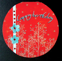 Hybrid Happy Birthday Card