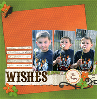 Wishes (January color challenge)