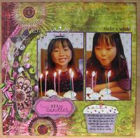 6 'tween candles *Supply challenge*