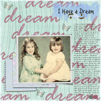 Jan Journaling Chlg - I Have a Dream