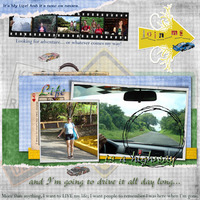Jan Scrap Your Life Chlg - Life is a Highway