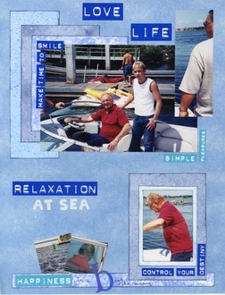 Amp It Up Chlg #3 - Relaxation at Sea