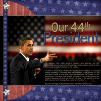 Our 44th President