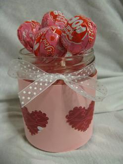 Valentine Treat Jar