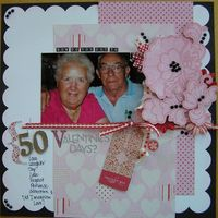 Making Memories  Love Notes CT REVEAL-50 Valentine's Days