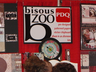 The Bisous booth at CHA