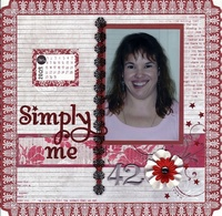 Simply Me @ 42 ** Little Yellow Bicycle Love Letters CT Reveal**