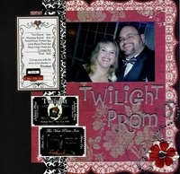 Twilight Prom ** Little Yellow Bicycle Love Letters CT Reveal**