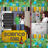 Science Fair: Feb Pick an element chall