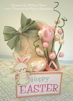 Hoppy Easter  **Round Top Box**