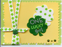 ONe Lucky Girl Fast Scrap #8