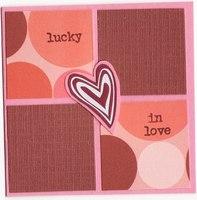 FS #8 - Lucky in Love card