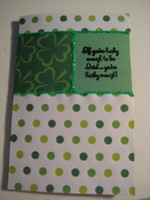 st.patty's day card