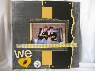 We heart Steelers