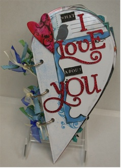What I Love About You Acrylic Album ** Bisous CT Reveal **