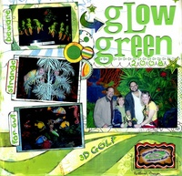 Glow Green ** Bisous CT Reveal **