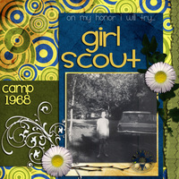 Girl Scout Camp 1968 (CT REVEAL)