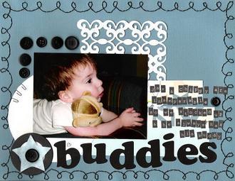 Buddies - Digi CT Reveal Challenge