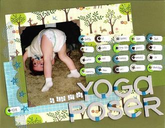 Yoga Poser - March Theme Challenge