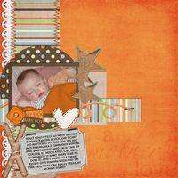 My sick baby boy - Scrap Your Life Challenge