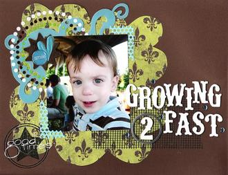 Growing 2 Fast - March Ad Challenge