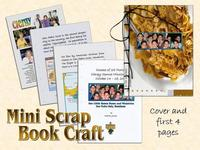 Mini Scrap Book Craft