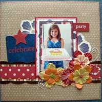 Celebrate Page Idea