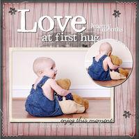 Love at first Hug