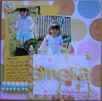 LITTLE YELLOW BICYCLE CT REVEAL-Amelia