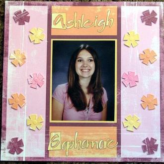 Ashleigh's Sophomore portrait