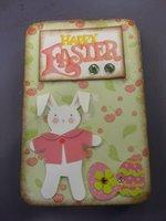 Easter Gift Tin w/ Mini Accordion Album