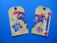 Super Hero Fast Scrap tags