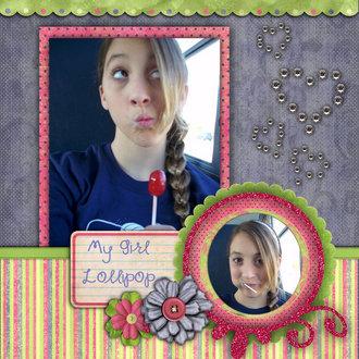 My girl lollipop