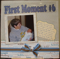 First Moment #6