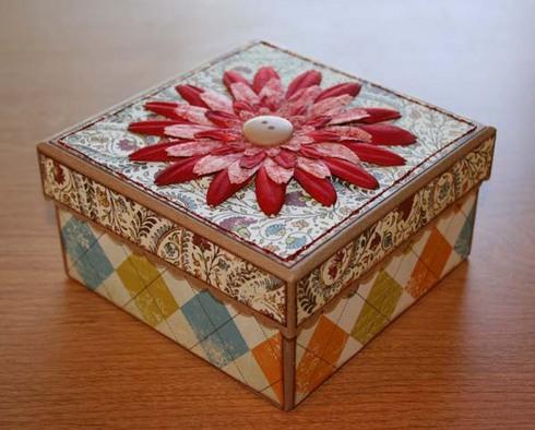 Box for Erik's teacher.
