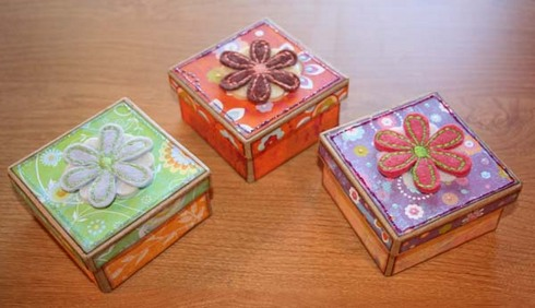 Boxes for Marissa's teachers.