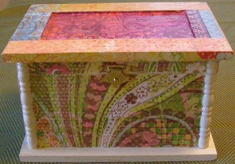 Decoupage Jewelry Box
