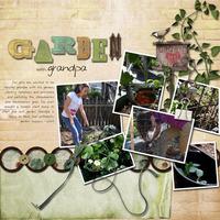 garden with grandpa {digi CT reveal}