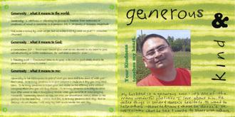 May Faithbooking Chlg - Generosity