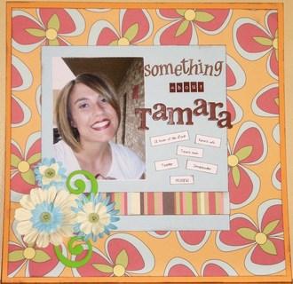 something about Tamara