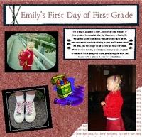 Em First Day First Grade