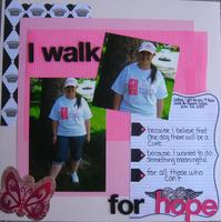I Walk For Hope