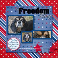 Tootles Celebrates Freedom