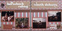 Going horseback riding in South Dakota