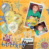 Brendan's Birthday (page II)