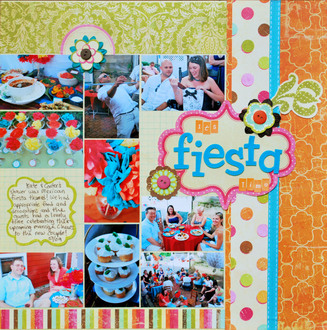 **Collage Press Reveal** It's Fiesta Time