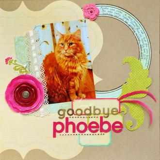 **Collage Press Reveal** Goodbye Phoebe