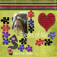 Pieces of Me August Sketch Contest