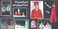 Joshua's preschool graduation