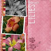 Summer Lilies Challenge 1
